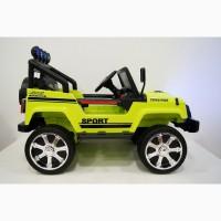 Детский электромобиль Джип с большими колесами новый