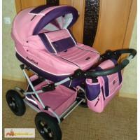 Детскую коляску 2 в 1 в отличном состоянии, для девочки в Челябинске