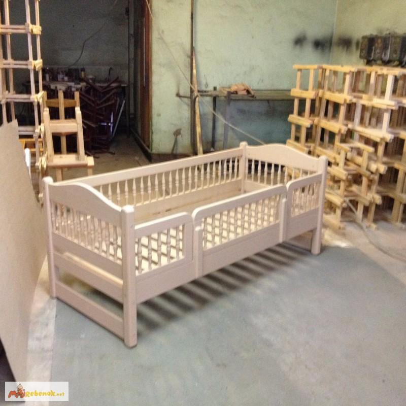 Фото 2. Кровать деревянная детская, подростковая Клэр