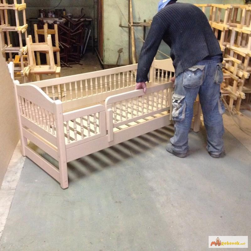 Фото 3. Кровать деревянная детская, подростковая Клэр