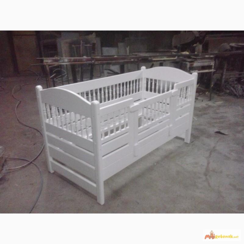 Фото 5. Кровать деревянная детская, подростковая Клэр