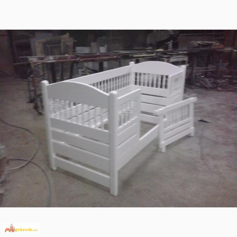 Фото 6. Кровать деревянная детская, подростковая Клэр