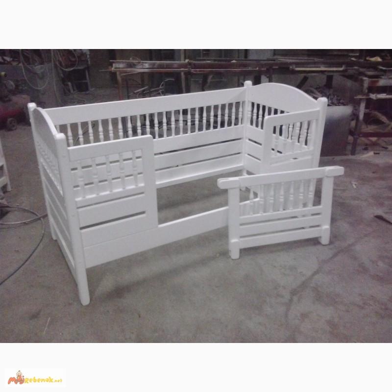 Фото 7. Кровать деревянная детская, подростковая Клэр