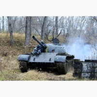 Катание на танке, бронетехника Красноярск
