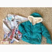 Куртка и плащ для девочки 4-5л. в Копейске