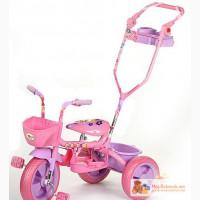 Велосипед управляшка Розовый НОВЫЙ в Саратове