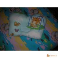 Ортопедическая подушка для новорожденных (бабочка)