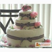 Торт из памперсов (подарок на рождение) в Челябинске