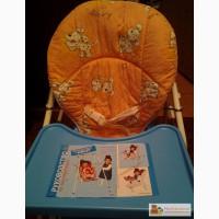 Стульчик для кормления детское кресло НЯНЯ 4 в 1 в Москве