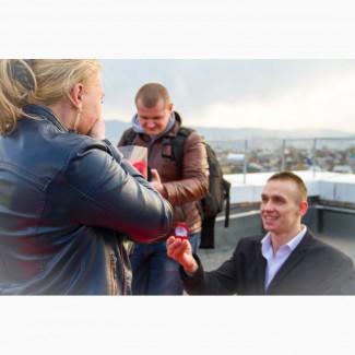 Предложение руки и сердца Красноярск