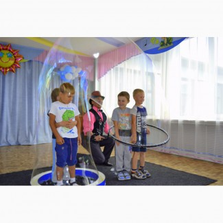 Шоу мыльных пузырей Красноярск