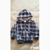 Флисовая курточка на хлопковом подкладе baby go в Ижевске