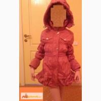 Осеннее пальто для девочки 5-8 лет в Новокузнецке