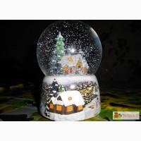 Музыкальный снежный шар с подсветкой в Белгороде