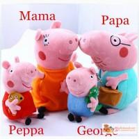 Свинка Peppa вся семья 4 шт, высота 30 и в Кемерово