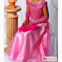 Красивое нарядное платье для девочки 10-12 лет