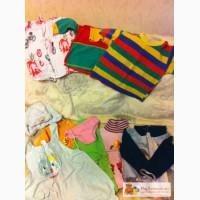 Детские вещи на 1-3 года, бортик на кровать даром