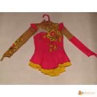 Платье для выступлений по фигурному катания.