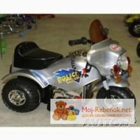 Детский мотоцикл Bugati 20002-RC. 6 вольт новый