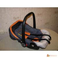 Детское автомобильное кресло-переноска (новое)