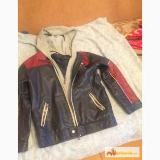 Кожаная куртка на мальчика в Екатеринбурге