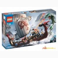 Конструктор Lego Vikings 7018 Vikings Ship challenges the Midgard Serpent (Лего 7018 Кораб