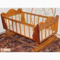 Детскую кроватку бу в Кургане