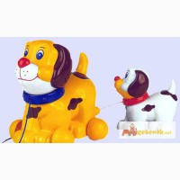 Игрушка-каталка «Семья собак» Chicco в Калининграде