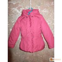 Демисезонная куртка фирмы «SAVVA» на рост 110-116 в отличном состоянии