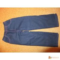 Новые джинсовые брюки на флисе «Gloria Jeans» на рост 116-122