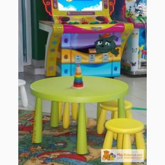 Детский стол, стул, стул для кормления IKEA в Кирове
