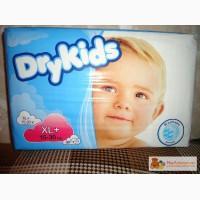 Продаю памперсы DryKids XL 15-30 кг . В упаковки 30 штук