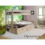 Двухъярусные детские кровати из дерева купить в Москве