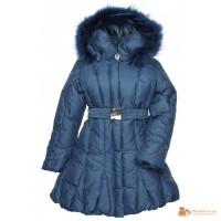 Зимнее пальто на пуху-новое для девочек-Borelliii
