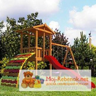 Детские игровые комплексы для дачи и улицы марки Китеж