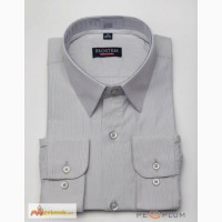 Рубашка светло-серая длинный рукав BROSTEM original 29/ 116-122 в Энгельсе