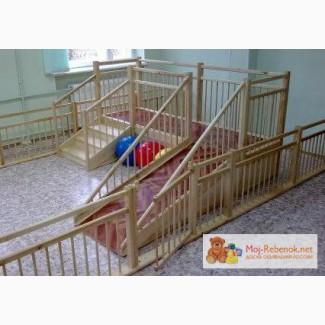 Игровые детские горки для детских садов 2.5х0.75м, Москва