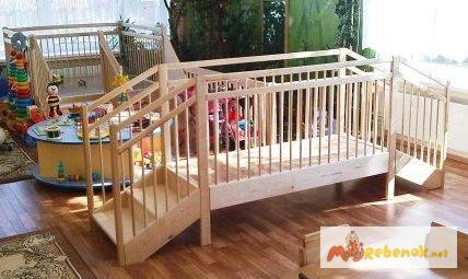 Фото 2. Мостик игровой деревянный для детских садиков и домов ребенка, Москва