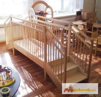 Фото 4. Мостик игровой деревянный для детских садиков и домов ребенка, Москва