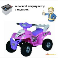 Детский квадроцикл для девочек розовый в Краснодаре