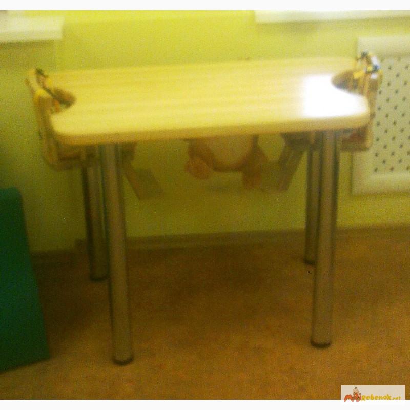 Фото 3. Деревянные столы для кормления двух детей в домах ребенка, Москва