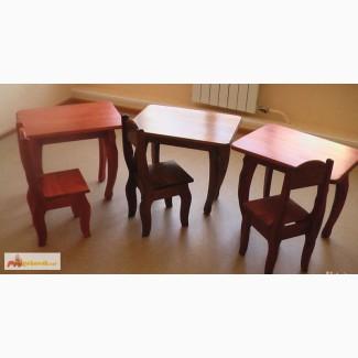 Детский стол и стульчик образца 1789 год Тобольск в Северске