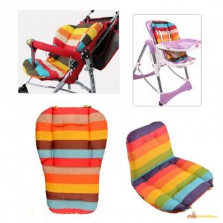 Универсальный Вкладыш - Матрасик для детских стульчиков, колясок, автокресел и шезлонгов