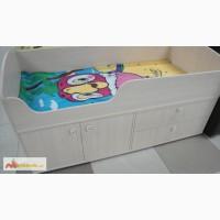Кровать со встроенным шкафом и комодом в Хабаровске