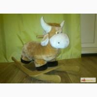 Качалку детскую в виде бычка в Красноярске