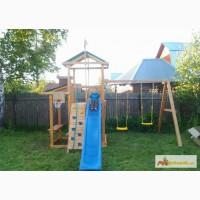 Деревянные площадки для детей на дачу в Самаре