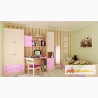 Детская модульная мебель Лада Розовая в Москве